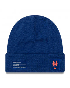 New York Mets New Era 2018 MLB Official On-Field Sport Knit Wintermütze