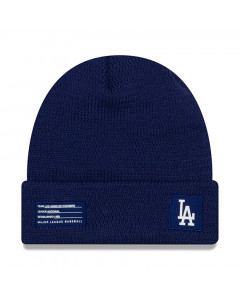 Los Angeles Dodgers New Era 2018 MLB Official On-Field Sport Knit zimska kapa