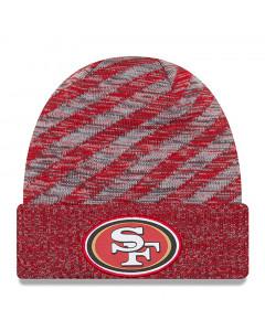 San Francisco 49ers New Era 2018 NFL Cold Weather TD Knit zimska kapa