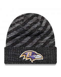 Baltimore Ravens New Era 2018 NFL Cold Weather TD Knit Wintermütze