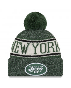 New York Jets New Era 2018 NFL Cold Weather Sport Knit zimska kapa