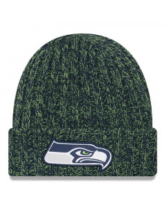 Seattle Seahawks New Era 2018 NFL Cold Weather TD Knit Damen Wintermütze