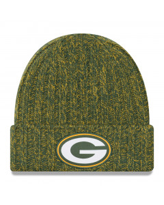 Green Bay Packers New Era 2018 NFL Cold Weather TD Knit Damen Wintermütze