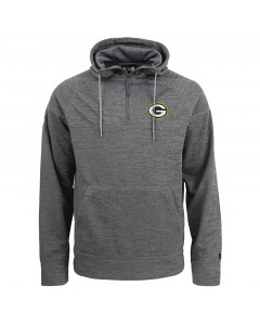 Green Bay Packers New Era Tech pulover sa kapuljačom