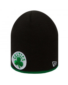 Boston Celtics New Era Team Skull Knit Wintermütze