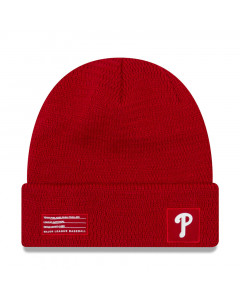 Philadelphia Phillies New Era 2018 MLB Official On-Field Sport Knit zimska kapa