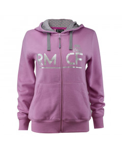 Real Madrid Zip Damen Kapuzenjacke N°2