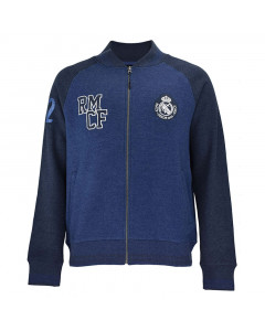 Real Madrid Zip Kinder Jacke N°4