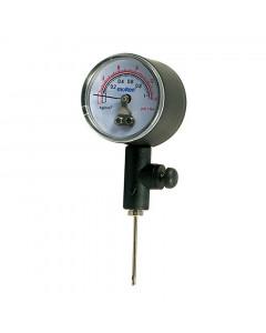 Molten analogni manometar - mjerač tlaka u loptama