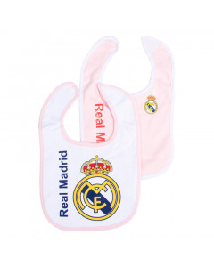 Real Madrid 2x Lätzchen rosa