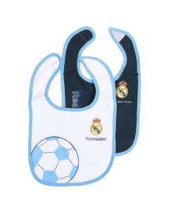 Real Madrid 2x Lätzchen blau