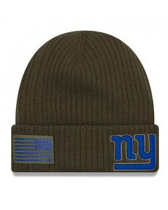 New York Giants New Era 2018 Salute To Service Sideline Cuff Wintermütze