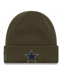 Dallas Cowboys New Era 2018 Salute To Service Sideline Cuff Wintermütze