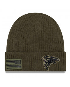 Atlanta Falcons New Era 2018 Salute To Service Sideline Cuff Wintermütze