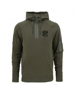 NFL Logo New Era Camo Collection Zip Kapuzenpullover