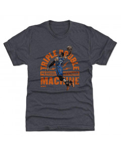 Russel Westbrook 500 Level Triple double O Tri Navy T-Shirt