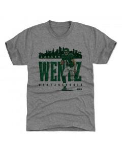 Carson Wentz 500 Level Wentzzylvania G Tri Gray T-Shirt