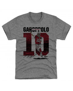 Jimmy Garoppolo 500 Level Stadium R Tri Gray T-Shirt