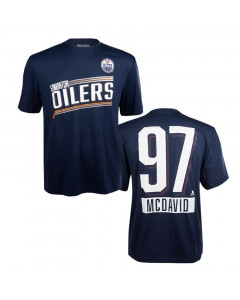 Connor McDavid Edmonton Oilers Levelwear Icing T-Shirt