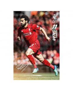 Liverpool poster Mohamed Salah