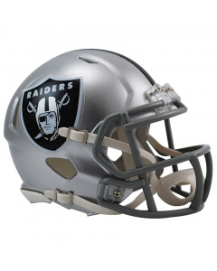 Oakland Raiders Riddell Speed Mini Helm