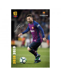 FC Barcelona Messi Poster