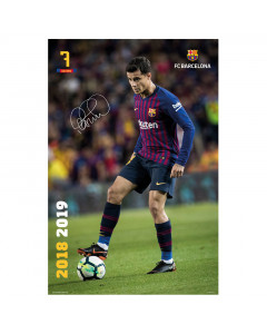 FC Barcelona Coutinho Poster
