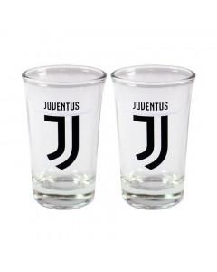 Juventus 2x Schnapsglas