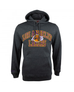 Los Angeles Lakers Mitchell & Ness Playoff Win pulover sa kapuljačom