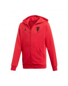 Manchester United Adidas otroška jopica s kapuco