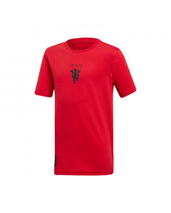 Manchester United Adidas Graphic Kinder T-Shirt