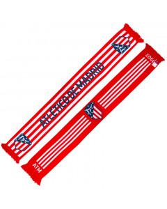 Atlético de Madrid Schal N°1 beidseitig tragbar