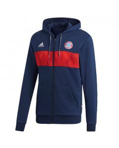 FC Bayern München Adidas zip majica sa kapuljačom