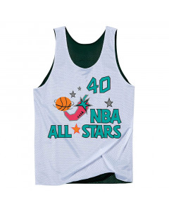 Shawn Kemp 40 Seattle Supersonics All Star 1996 Mitchell & Ness Mesh Tank Top beidseitig tragbar