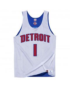 Allen Iverson 1 Detroit Pistons All Star 2009 Mitchell & Ness Mesh Tank Top beidseitig tragbar