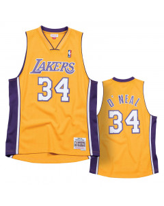 Shaquille O'Neal 34 Los Angeles Lakers 1999-00 Mitchell & Ness Swingman dres