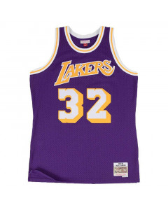 Magic Johnson 32 Los Angeles Lakers 1984-85 Mitchell & Ness Swingman dres