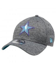 Charlotte Hornets New Era 39THIRTY All Star game 2019 All Shadow Tech Mütze