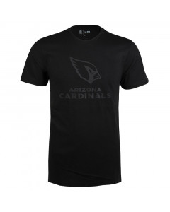 Arizona Cardinals New Era Tonal Black Logo T-Shirt