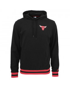 Chicago Bulls New Era Stripe Rib Kapuzenpullover Hoody
