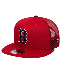 Boston Red Sox New Era 9FIFTY Trucker League Essential Team kapa