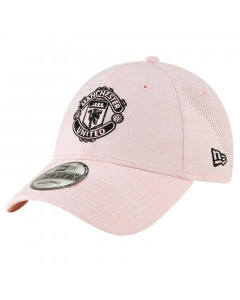 Manchester United New Era 9FORTY Pink Engineered Damen Mütze