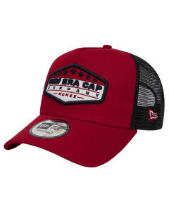 New Era Trucker A Frame Patch Red kapa