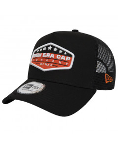 New Era Trucker A Frame Patch Black kapa