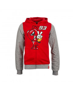 Marc Marquez MM93 Cartoon Ant Kinder Kapuzenjacke