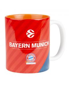 FC Bayern München Basketball Euroleague skodelica
