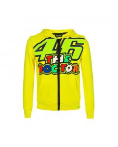 Valentino Rossi VR46 46 The Doctor otroška jopica s kapuco