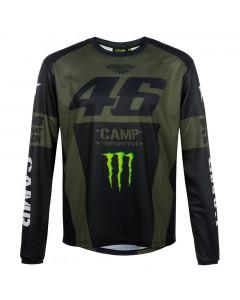 Valentino Rossi VR46 Monster Camp majica dolgi rokav