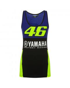 Valentino Rossi VR46 Yamaha Tank Top Damen T-Shirt ärmellos