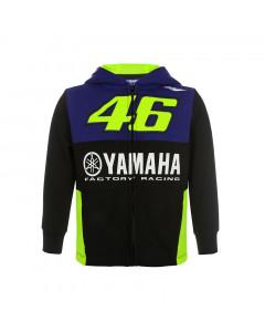 Valentino Rossi VR46 Yamaha Kinder Kapuzenjacke